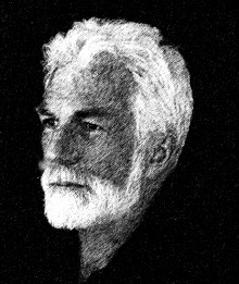 Sketch of author Henry Harvey